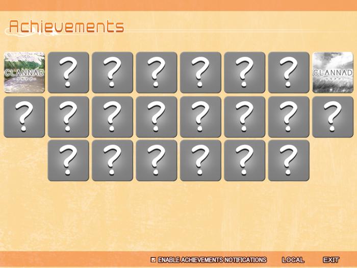 CLANNAD_Achievements